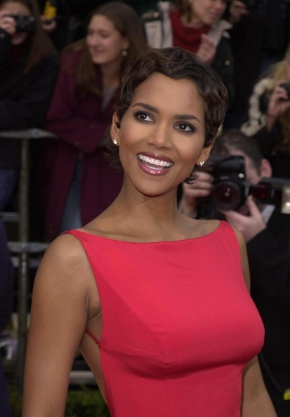 Halle Berry Then