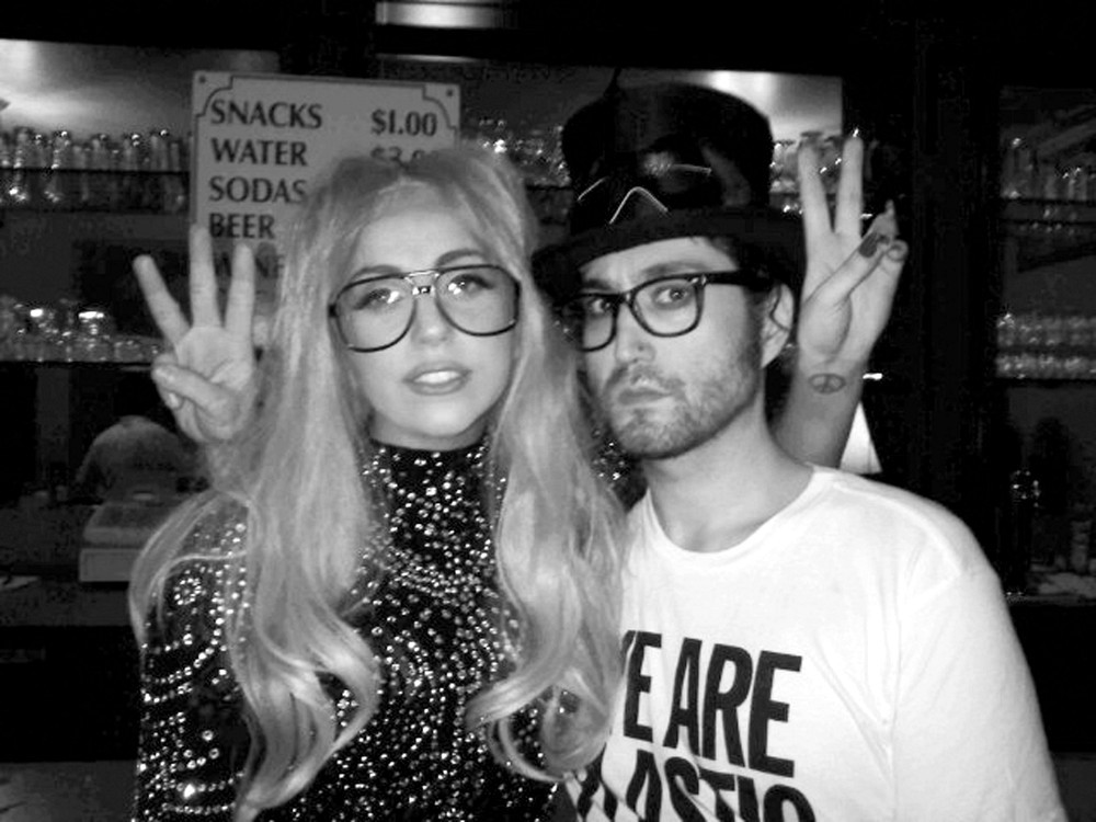 656da494f1 Lady Gaga and Sean Lennon Geek out in Glasses - News and Pics - Livingly