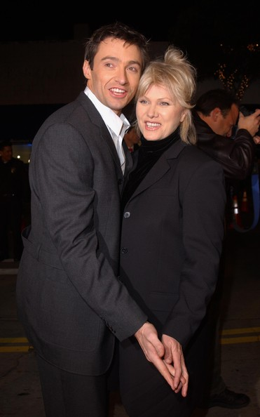 Hugh Jackman and Deborra-Lee Furness Then