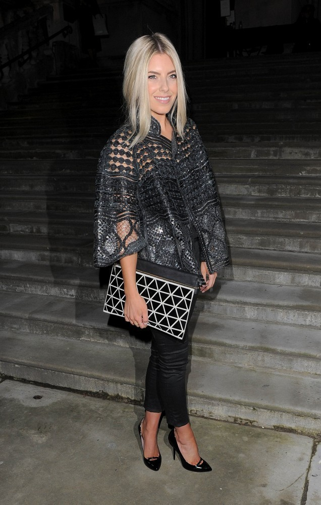 Mollie King At Topshop The Most Standout Street Style At London Fashion Week Fall 2014 Livingly