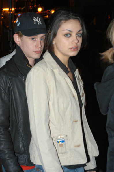 Mila Kunis and Macauley Culkin