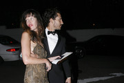 Celebrities are seen coming and going from HBO's 68th Annual Golden Globes After Party at Circa 55 restaurant in Los Angeles.