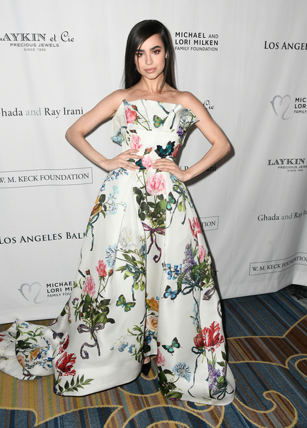 Sophia Carson In Monique Lhuillier At The Los Angeles Ballet Gala