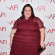 Red Ruffles at the Annual AFI Awards