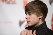 Recording artist Justin Beiber attends the Z100 & Coca Cola's All Access Lounge pre-show at Hammerstein Ballroom on December 10, 2010 in New York City.
