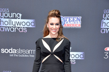 Alyssa Milano Makes the Case for Jumpsuits