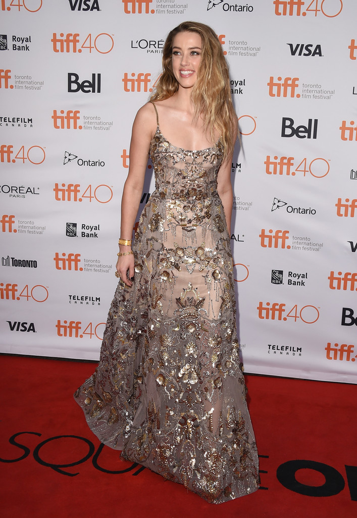 Amber Heard At The Toronto Film Festival Best Of 2015