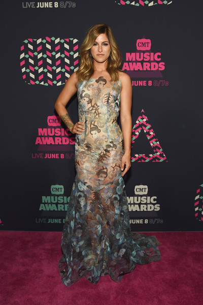 Cassadee Pope In Theia At The CMT Music Awards, 2016