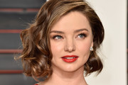 Model Miranda Kerr attends the 2016 Vanity Fair Oscar Party Hosted By Graydon Carter at the Wallis Annenberg Center for the Performing Arts on February 28, 2016 in Beverly Hills, California.