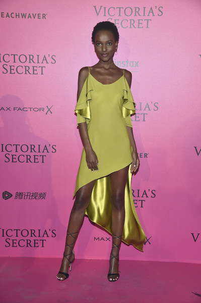 Herieth Paul in Chartreuse Silk