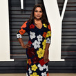 Mindy Kaling in Retro Flowers
