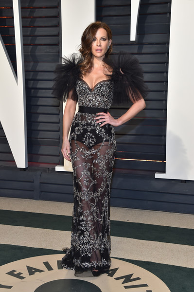 Kate Beckinsale in Zuhair Murad at the Vanity Fair Oscar Party