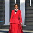 Janelle Monae In Christian Siriano At The Vanity Fair Oscar Party