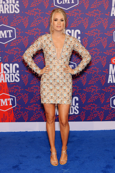 Carrie Underwood At The 2019 CMT Awards