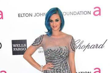 Katy Perry's Blue 2012 Oscar Party Gown
