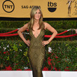 In A Plunging John Galliano Number At The 2015 SAG Awards