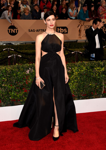 Jessica Pare at the SAG Awards - The Most Beautiful Gowns of 2016 ...
