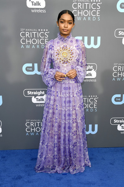 Yara Shahidi in Giambattista Valli Couture