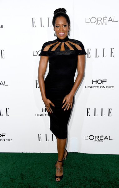 Regina King in a Statement LBD