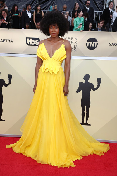 Sydelle Noel in Leanne Marshall at the SAG Awards