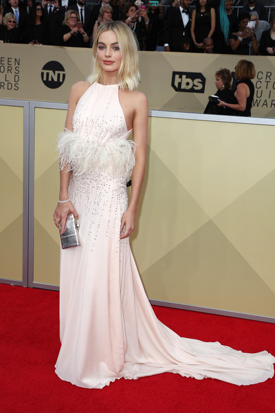 Margot Robbie In Miu Miu At The SAG Awards