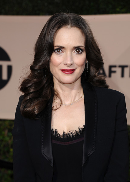 Winona Ryder At The 2018 SAG Awards