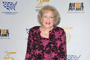 Actress Betty White poses in the press room at the 25th Anniversary Genesis Awards held at the Hyatt Regency Century Plaza Hotel on March 19, 2011 in Los Angeles, California.