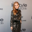 Isla Fisher in Silver Sequins