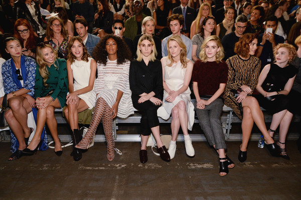 Famous Front Rows at NYFW