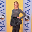 Faith Hill in a Peplum Skirt