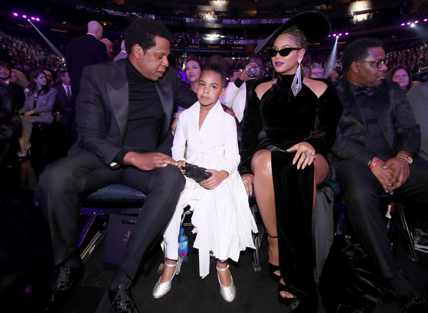 Jay Z and Beyonce (and Blue Ivy)