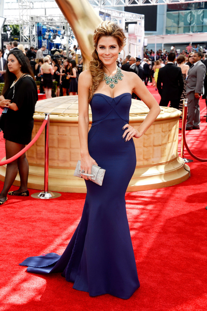 Maria Menounos 2013 Emmy Awards The Most Gorgeous Emmy