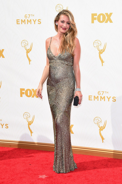 Cat Deeley at the 2015 Emmy Awards