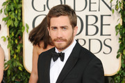 Actor Jake Gyllenhaal arrives at the 68th Annual Golden Globe Awards held at The Beverly Hilton hotel on January 16, 2011 in Beverly Hills, California.