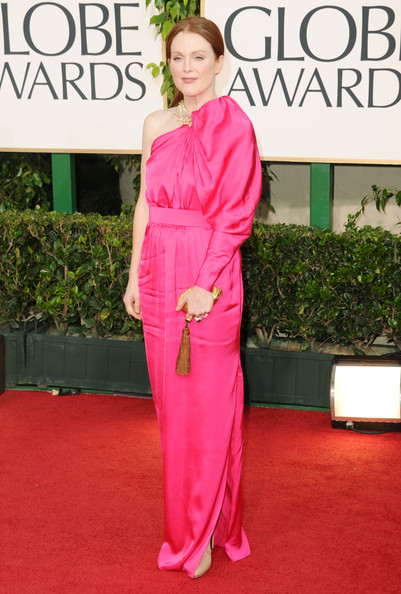 Julianne Moore in Lanvin at the 2011 Golden Globes