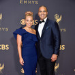 Christopher Jackson and Veronica