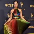 Tessa Thompson in Rosie Assoulin at the Emmys