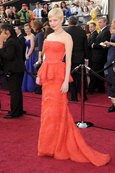 Michelle Williams at the 2012 Oscars