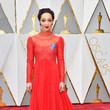 Ruth Negga in Regal Red