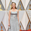 Teresa Palmer in Belted Silver