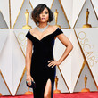 Taraji P. Henson in Off-the-Shoulder Velvet
