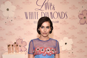 Actress Camilla Belle co-hosts Elizabeth Taylor Love & White Diamonds New Fragrance Launch at the Academy Mansion on October 17, 2017 in New York City.