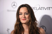 Actress Leighton Meester attends the Art Of Elysium