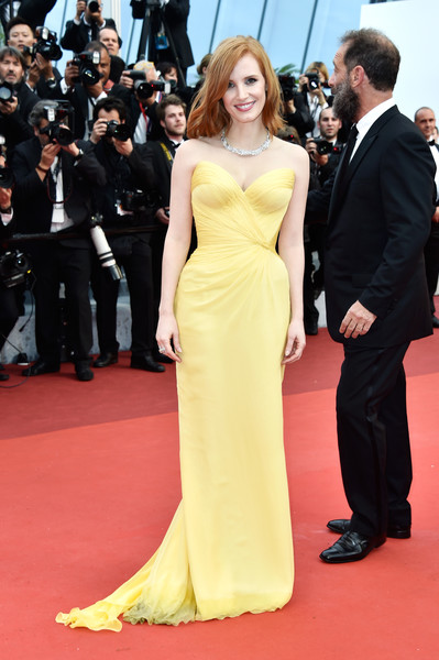 Jessica Chastain at Cannes Film Festival - The Most Beautiful Gowns ...