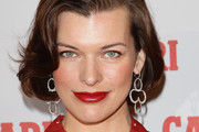 Actress Milla Jovovich attends the Campari Unveils 2012 Calendar photocall at Visionnaire Design Gallery on October 27, 2011 in Milan, Italy.