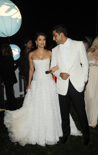 Aishwarya Rai And Abhishek Bachchan At The 2009 Cannes Film Festival