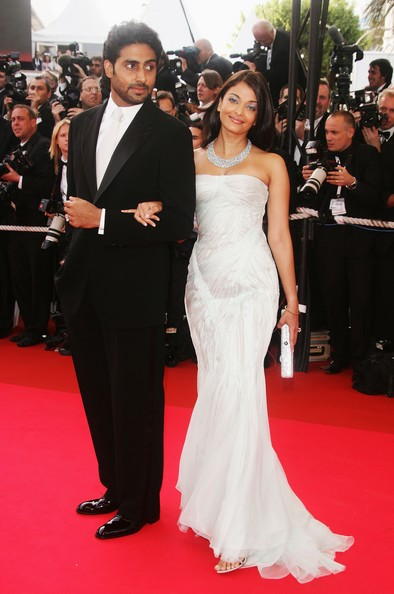 Aishwarya Rai And Abhishek Bachchan At The 2007 Cannes Film Festival