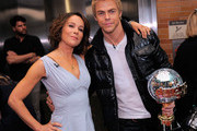 Dancer/actress Jennifer Grey and dancer Derek Hough, the winners of Season 11 of