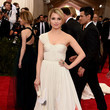 Dianna Agron at the MET