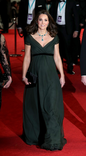 Kate's Green Empire Gown
